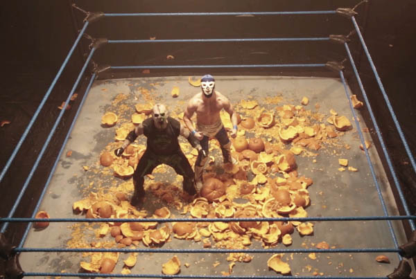 TESCO MOBILE HALLOWEEN WRESTLING